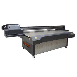 УФ светодиодный планшетный принтер для стеклянной / акриловой / керамической печатной машины