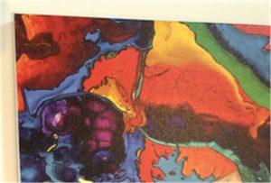 Печать на холсте образца WER-E2000UV