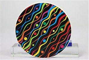 Образцы керамической печати от Rioch head uv WER-G2513UV