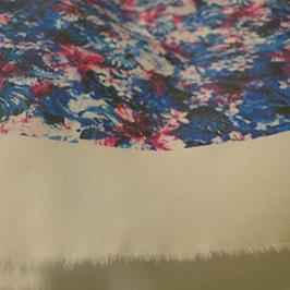 Цифровая печать на текстиле образец 2 на цифровом текстильном принтере WER-EP7880T