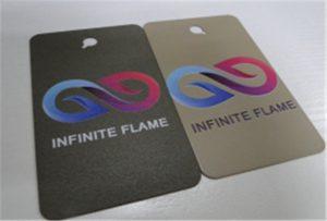 Образец печати металла на печатной машине A1 UV WER-EP6090UV