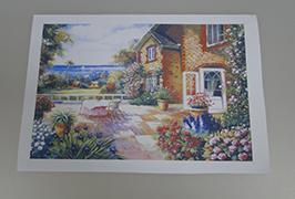 Масло Canvas с печатью на 2,5 м (8 футов) эко-сольвентном принтере WER-ES2501 2