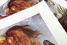 Масло Canvas с печатью на 2,5 м (8 футов) эко-сольвентном принтере WER-ES2501