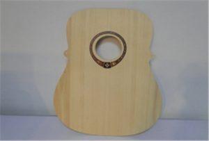 Образец гитары для дерева от ультрафиолетового принтера формата А2 WER-DD4290UV