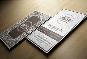 Деревянная визитная карточка, напечатанная A1 uv WER-EP6090UV